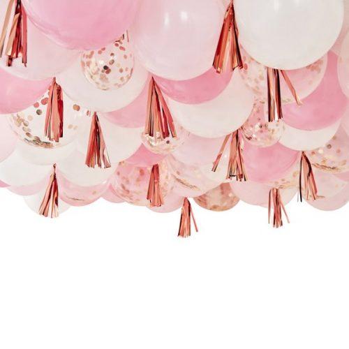 feestartikelen-ballonnen-kit-cover-the-ceiling-mix-it-up-pink