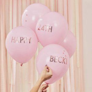 feestartikelen-ballonnen-roze-met-tekst-mix-it-up-pink-gepersonaliseerd-2