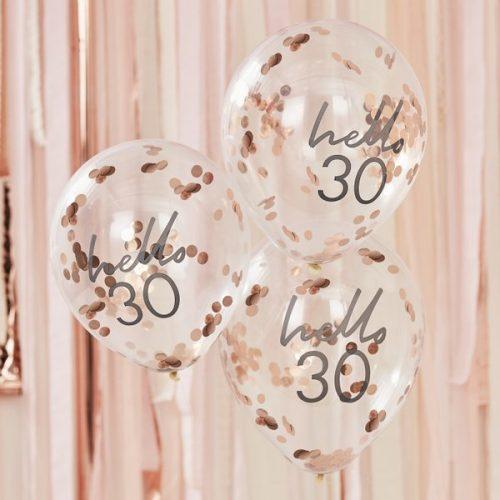 feestartikelen-confetti-ballonnen-hello-30-mix-it-up-pink-2