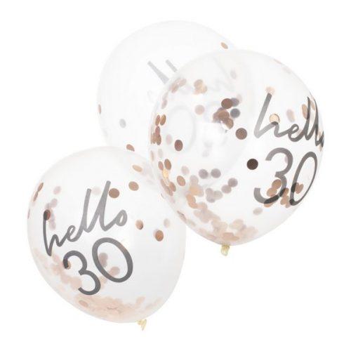feestartikelen-confetti-ballonnen-hello-30-mix-it-up-pink