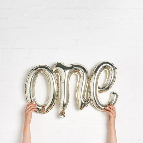 feestartikelen-folieballonnen-one-goud