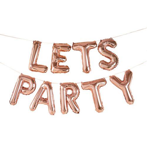feestartikelen-folieballonnen-slinger-lets-party-rosegoud-2