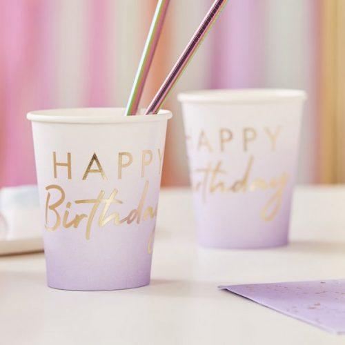 feestartikelen-papieren-bekertjes-happy-birthday-lila-mix-it-up-pastel-2
