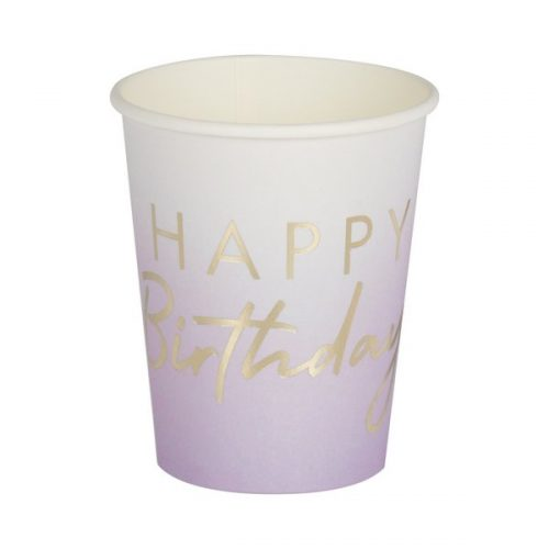 feestartikelen-papieren-bekertjes-happy-birthday-lila-mix-it-up-pastel