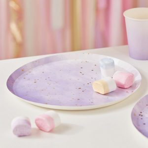 feestartikelen-papieren-bordjes-ombre-splash-lila-mix-it-up-pastel-3