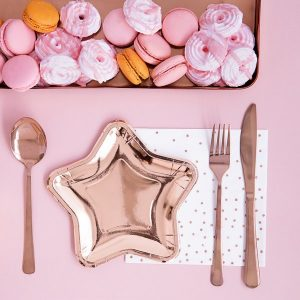 feestartikelen-papieren-gebaksbordjes-rose-golden-star-2