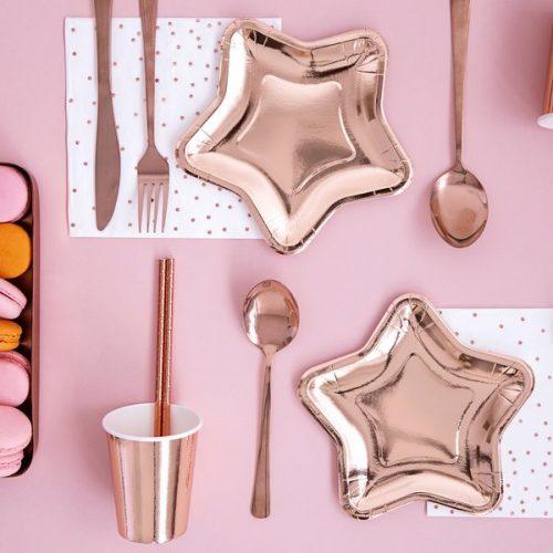 feestartikelen-papieren-gebaksbordjes-rose-golden-star-3