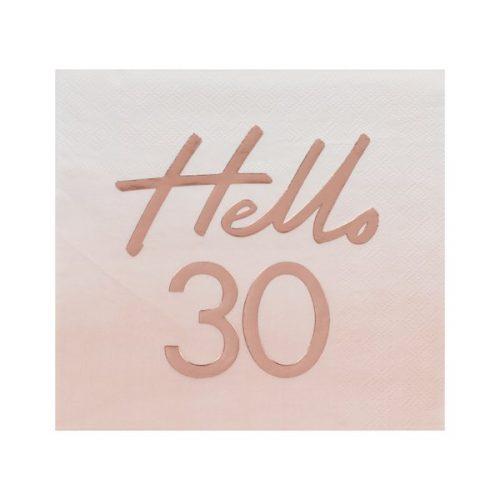 feestartikelen-servetten-hello-30-mix-it-up-pink