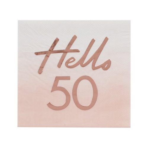 feestartikelen-servetten-hello-50-mix-it-up-pink