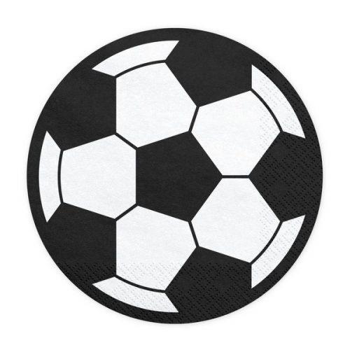 feestartikelen-servetten-voetbal-rond