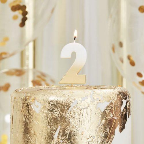feestartikelen-taartkaars-gold-ombre-cijfer-2-mix-it-up-gold-2