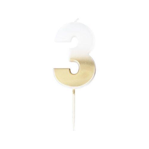 feestartikelen-taartkaars-gold-ombre-cijfer-3-mix-it-up-gold