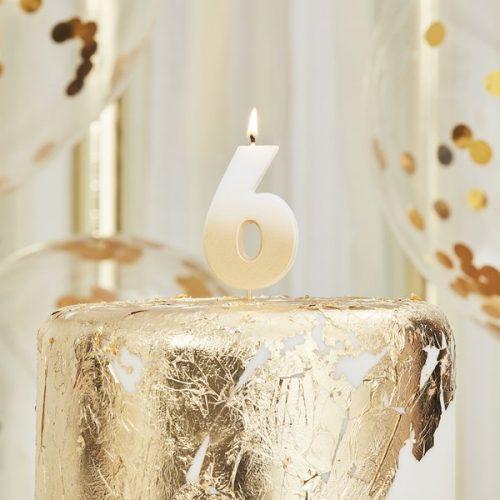 feestartikelen-taartkaars-gold-ombre-cijfer-6-mix-it-up-gold-2