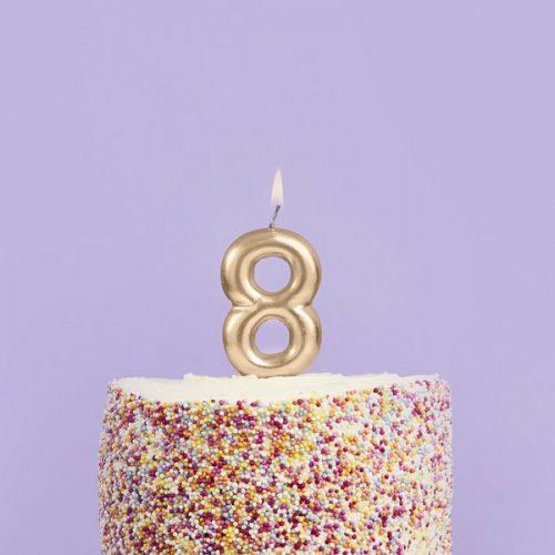 feestartikelen-taartkaars-goud-cijfer-8