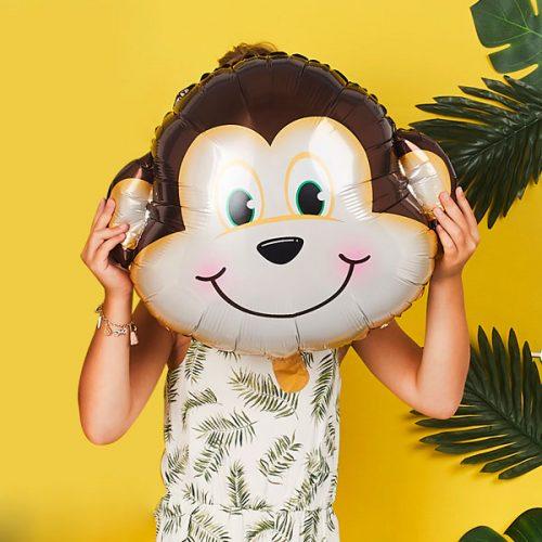 kinderfeestje-versiering-folieballon-aap-jungle-feestje