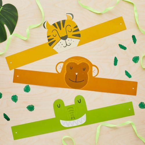 kinderfeestje-versiering-kroontjes-jungle-feestje
