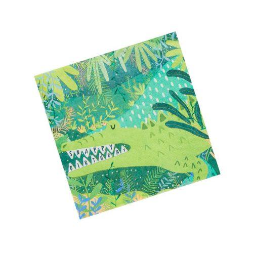 kinderfeestje-versiering-servetten-krokodil-jungle-feestje-2