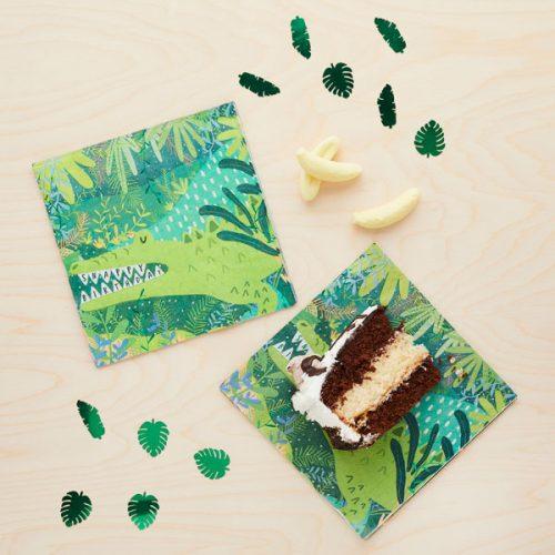 kinderfeestje-versiering-servetten-krokodil-jungle-feestje