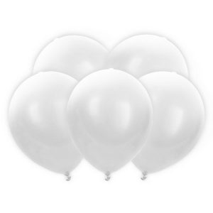 feestartikelen-led-ballonnen-wit