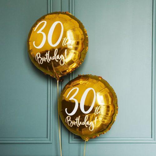 feestartikelen-folieballon-30th-birthday-gold-white-7