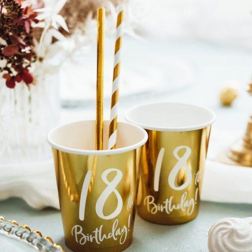 feestartikelen-papieren-bekertjes-18th-birthday-goud-2