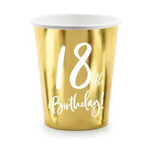 feestartikelen-papieren-bekertjes-18th-birthday-goud-3