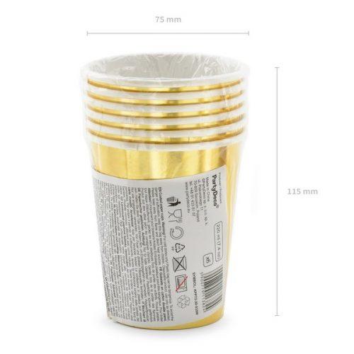 feestartikelen-papieren-bekertjes-30th-birthday-goud