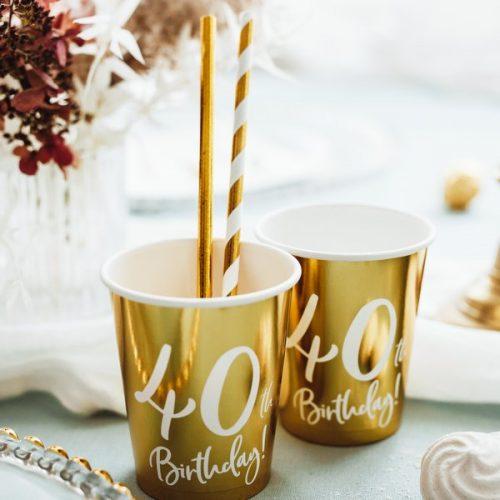 feestartikelen-papieren-bekertjes-40th-birthday-goud-5