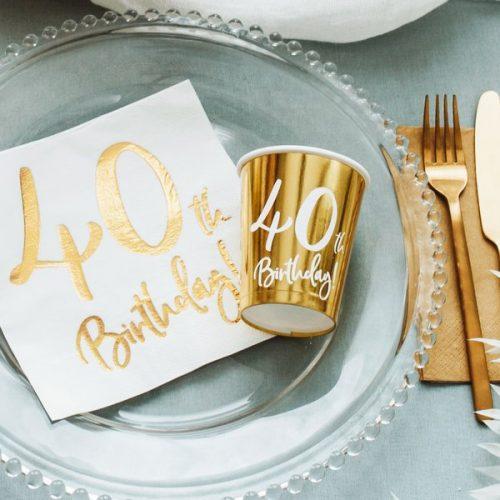 feestartikelen-papieren-bekertjes-40th-birthday-goud