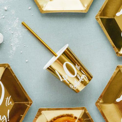 feestartikelen-papieren-bekertjes-40th-birthday-goud-6