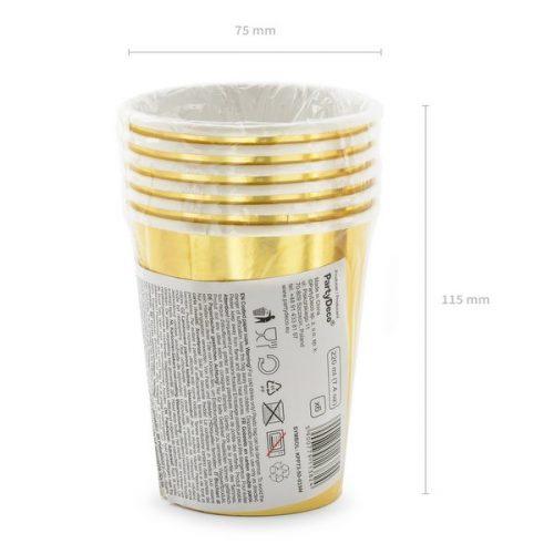 feestartikelen-papieren-bekertjes-50th-birthday-goud-4