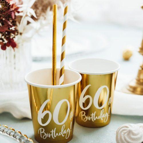 feestartikelen-papieren-bekertjes-60th-birthday-goud-2