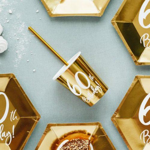 feestartikelen-papieren-bekertjes-60th-birthday-goud-3