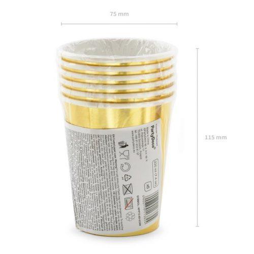 feestartikelen-papieren-bekertjes-60th-birthday-goud-4