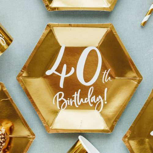 feestartikelen-papieren-bordjes-40th-birthday-goud-5
