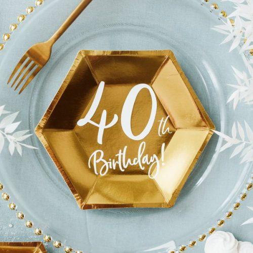 feestartikelen-papieren-bordjes-40th-birthday-goud-6