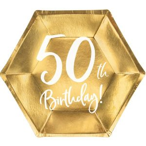 feestartikelen-papieren-bordjes-50th-birthday-goud