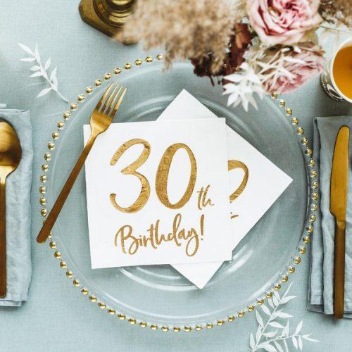 feestartikelen-servetten-30th-birthday-gold-white-5