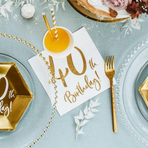 feestartikelen-servetten-40th-birthday-gold-white-7