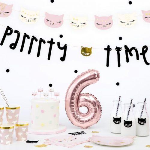 feestartikelen-slinger-parrrty-time-meow-party