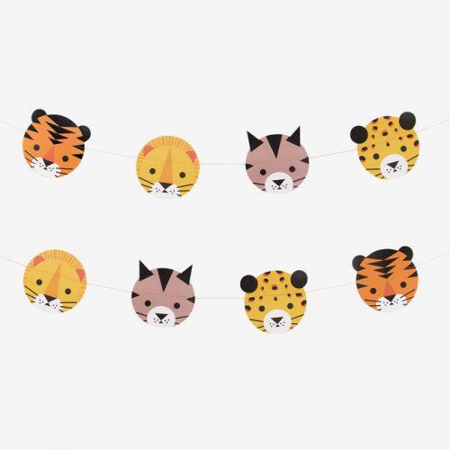 feestartikelen-slinger-jungle-animals