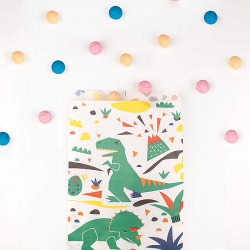 feestartikelen-snoepzakjes-dinosaur