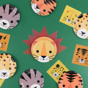 kinderfeestje-versiering-papieren-bordjes-jungle-animals