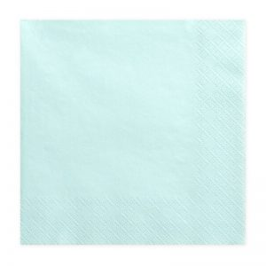bruiloft-decoratie-servetten-pale-turquoise