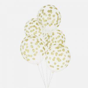 feestartikelen-ballonnen-met-confetti-print-goud