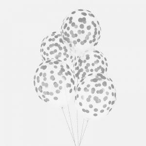 feestartikelen-ballonnen-met-confetti-print-zilver-2