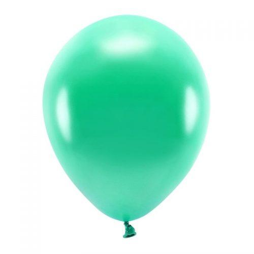 feestartikelen-eco-ballonnen-metallic-green