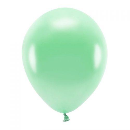feestartikelen-eco-ballonnen-metallic-mint