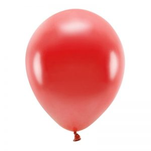 feestartikelen-eco-ballonnen-metallic-red