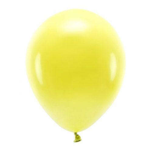 feestartikelen-eco-ballonnen-pastel-yellow